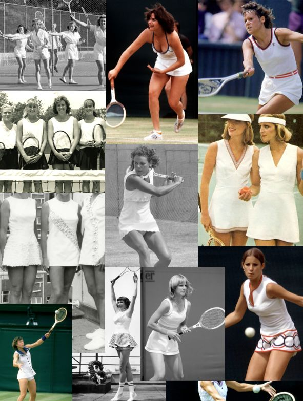 Women's Tennis Outfits - 1980s/1990s
