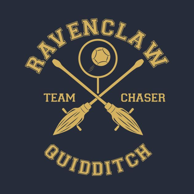 Awesome 'Ravenclaw+-+Team+Chaser' design on TeePublic!