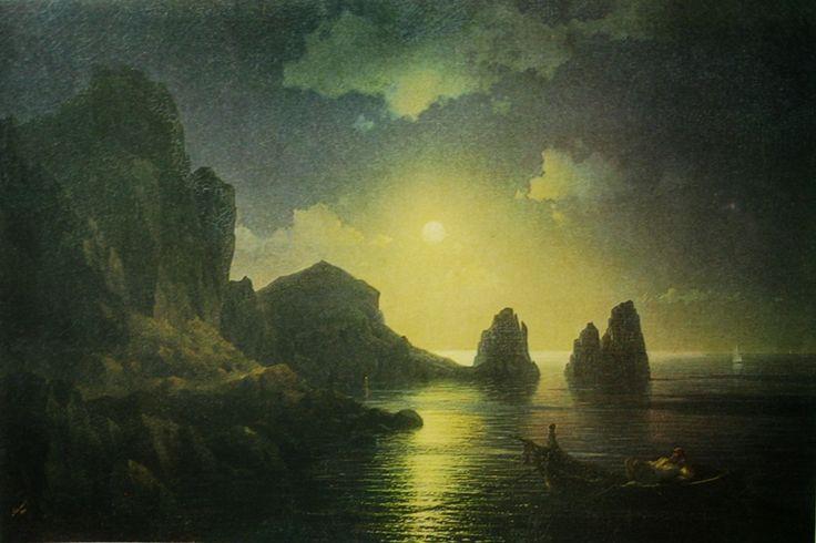 "Ivan Aivazovsky ""Seascape"" 1841"