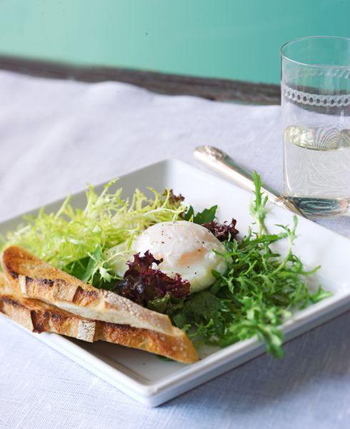 Recept Salade Lyonnaise – Salades & zo