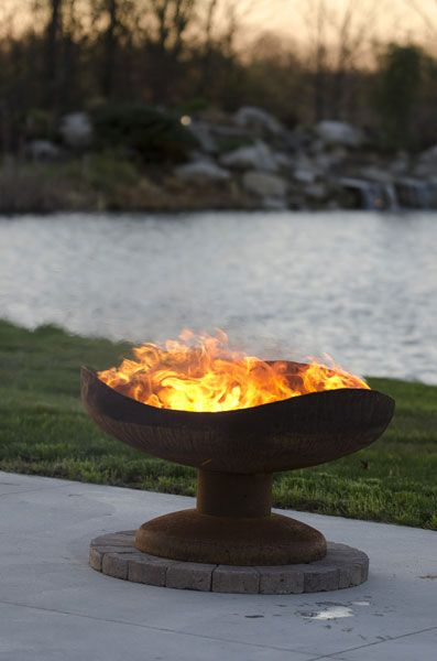 Sand Dune - Fire Pit Gallery – Unique Custom Steel Outdoor Fire Pits