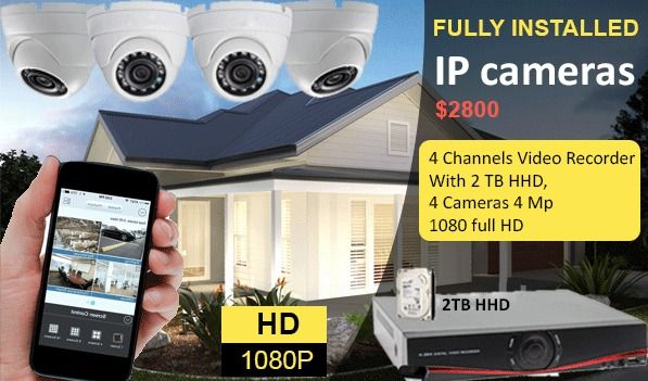 Why Is It A Right Decision To Install Security Cameras System In Sydney Security Camera System Ip Camera Best Security Cameras
