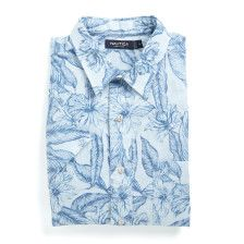 Slim Fit Linen Blend Short Sleeve Shirt - Lakeside Blue Wash. Get Sizzling discounts up to 50% Off at Nautica using Coupon and Promo Codes.