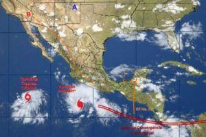 Huracán Hilary está muy cerca de México