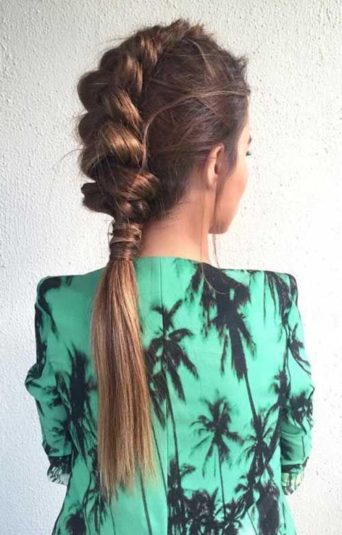 Die meisten stilvollen geflochtenen Frisuren, die Sie lieben werden