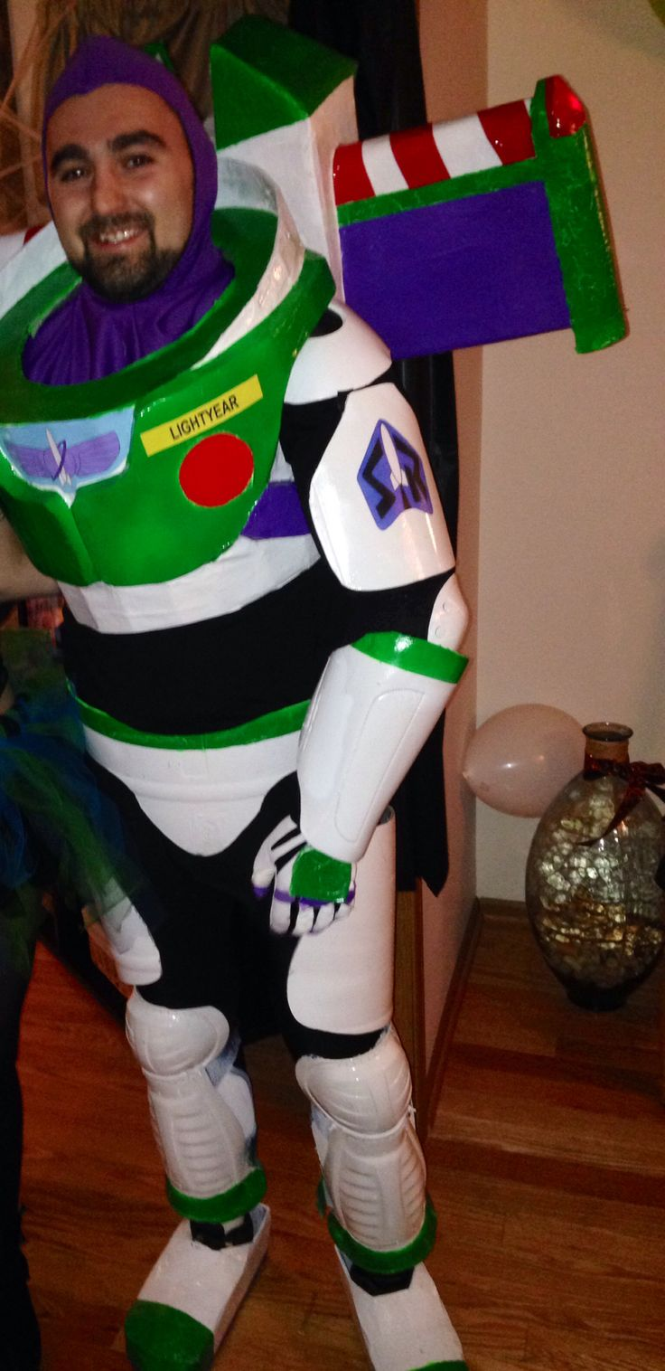 Adult Buzz Light Year Costume 95