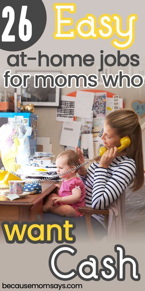These flexible jobs for moms who wants to stay hom…