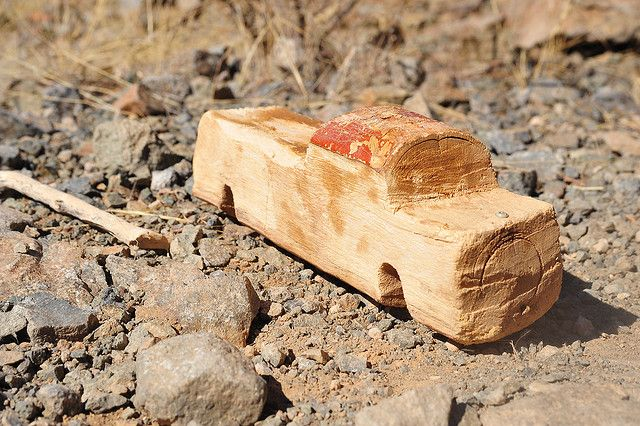 MUHIMBA TOY ~ WOODEN CAR❤️