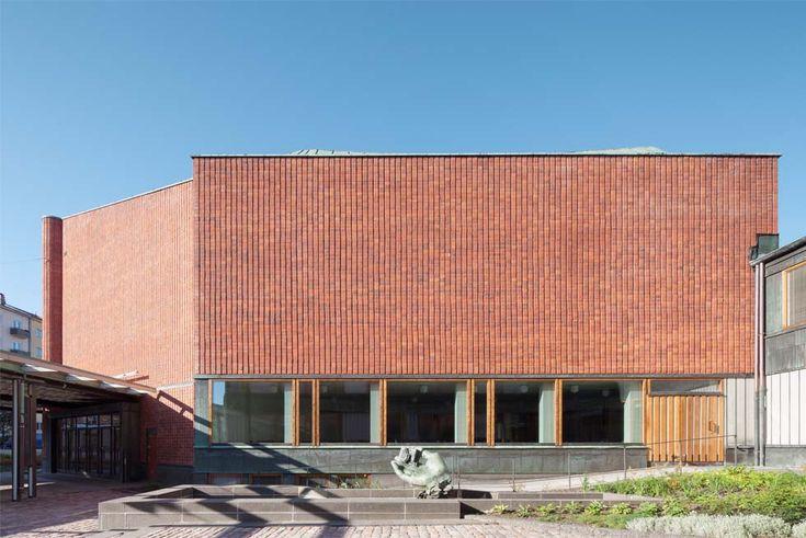 Renovation of Kulttuuritalo / Alvar Aalto, Helsinki
