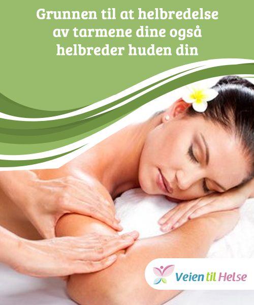 Grunnen til at helbredelse av tarmene dine også helbreder huden din  Når #tarmene dine er forgiftet, kan #huden din vise det når kroppen din blir #kvitt toksiner gjennom #huden din.