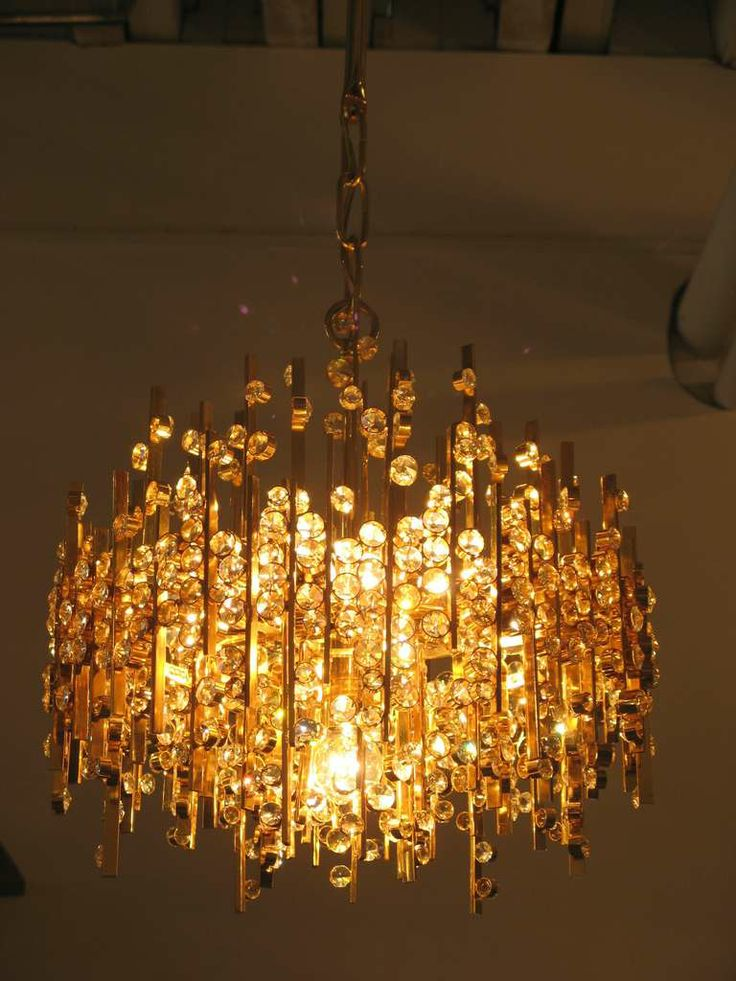 Lobmeyr Pendant With Hundreds Of Austrian Crystals | From a unique collection of antique and modern chandeliers and pendants  at http://www.1stdibs.com/lighting/chandeliers-pendant-lights/