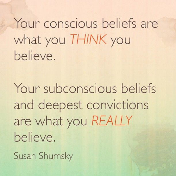 how to change your subconscious beliefs