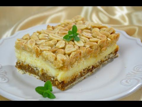 Ciasto Snickers bez pieczenia - Jak zrobić - [Smakowite Dania] - YouTube
