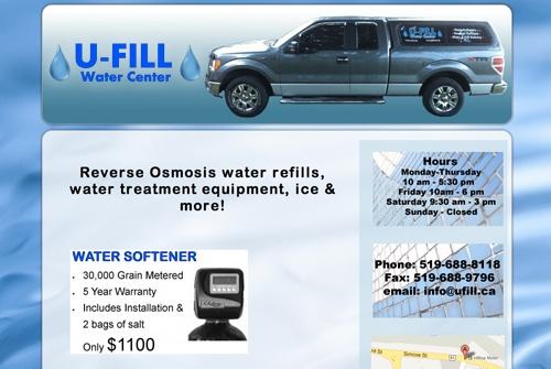 www.Ufill.ca designed-by-Fresh-Idea-Websites