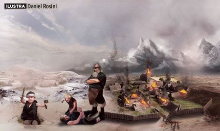 per-124-treinamento-viking Como era o treinamento de um guerreiro viking?