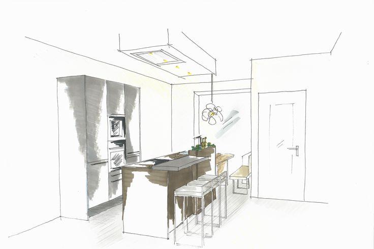 Siematic keukenontwerp in de stoere en levendige urban stijl voor het nieuwbouwproject de vrije - Keukenontwerp ...