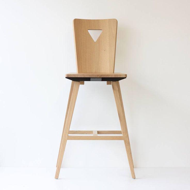New Chaise de bar esprit chaise alsacienne concours bois design chata gner