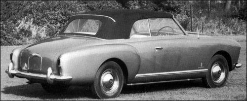 OG | 1953 Rover P4 | 75 Drophead prototype by Pinin Farina.