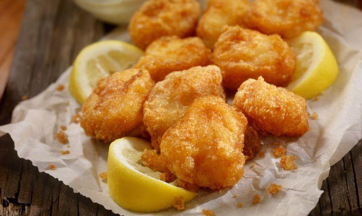 Křupavé rybí kousky (nejen) pro děti