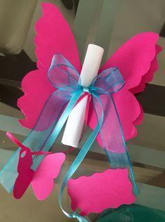butterfly Invitation #Babyshower