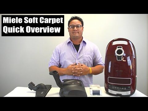 Miele Soft Carpet Vacuum Review - Quick Overview and Tutorial - YouTube