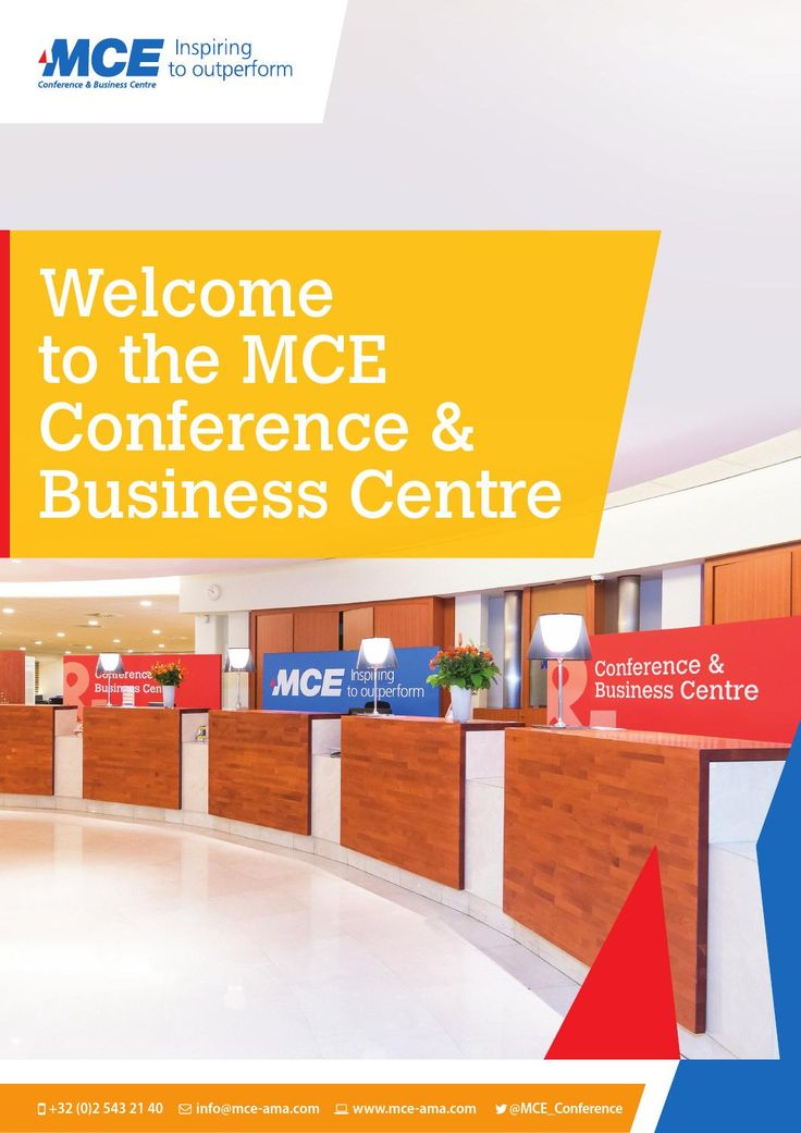 MCE Conference & Business Centre Brochure  Hosting over 40,000 meetings and events since being founded, MCE Conference & Business Centre is one of the largest meeting centres in the heart of Brussels. With a dedicated Conference & Business Centre team, we know how to make your event a real success.