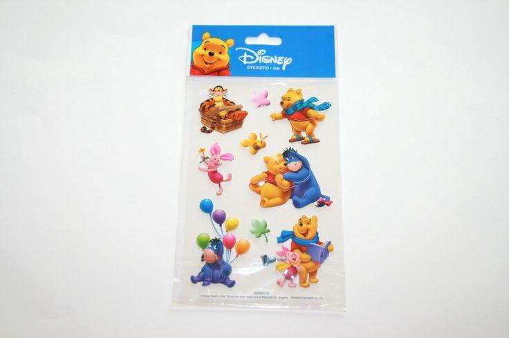 Stickers relief 3D WINNIE l'Ourson et ses amis n°5 : Stickers, autocollants par boutique-creative-by-c-dona