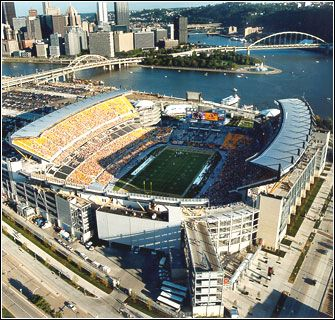 Heinz Field - Home of the Pittsburgh Steelers and the University of Pittsburgh Panthers