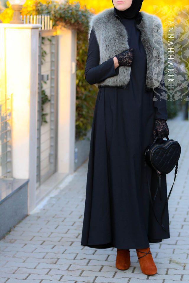 A-line basic dress www.annahariri.com