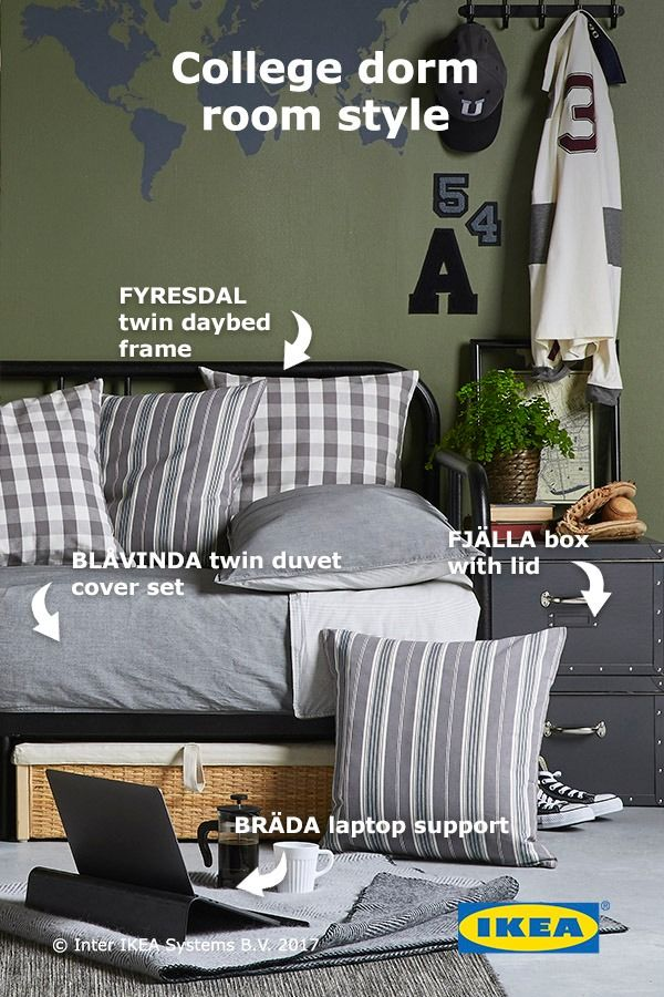 Whether You Need A Comfy Daybed To Nap On Between Classes Or Sturdy Storage  That Will Fit In A Small Dorm Room, Find IKEA ...