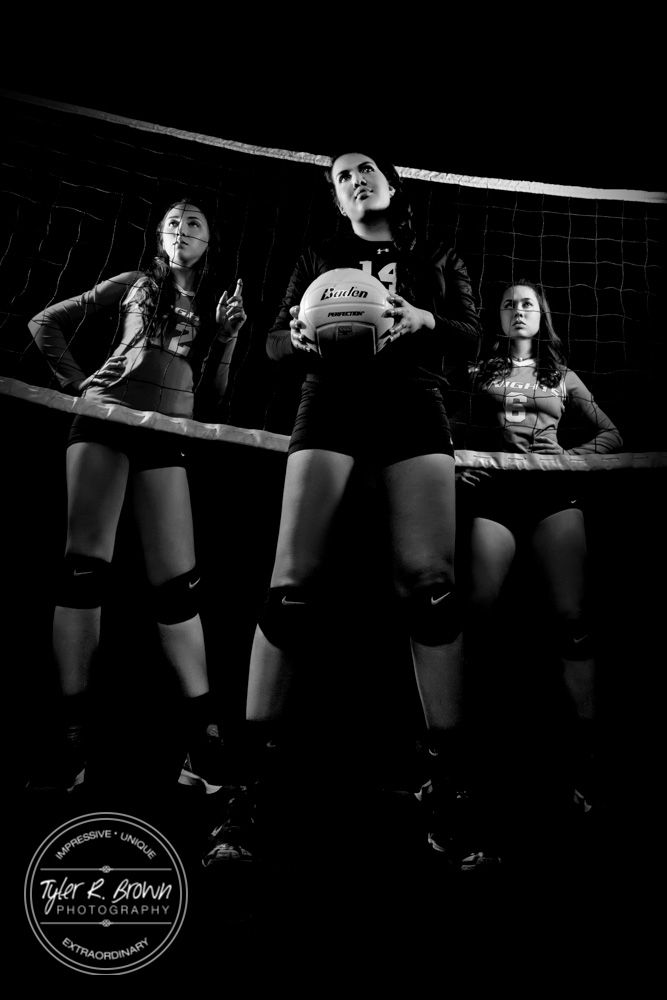 Chelsea Roemer - Richardson High School - Studio - Senior Portraits - Class of 2016 - Senior Pictures - Ideas for Girls - Volleyball - #seniorportraits - Female Athletes - #seniorpics - Ideas for Volleyball Players - Volleyball Senior - Senior Model Rep - Tyler R. Brown Photography