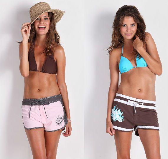 Самые яркие и необычные женские костюмы для серфинга