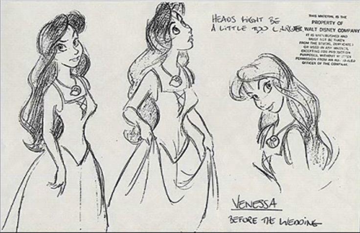 Vanessa - Before the Wedding (Character Design) - the-little-mermaid Photo
