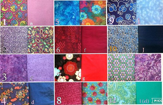LePads  Current Fabric Album for Custom Orders
