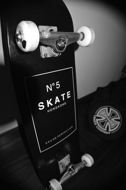 I've always seen their products but never was able to understand their brand. I never knew they sold skateboards. I love it! ❤