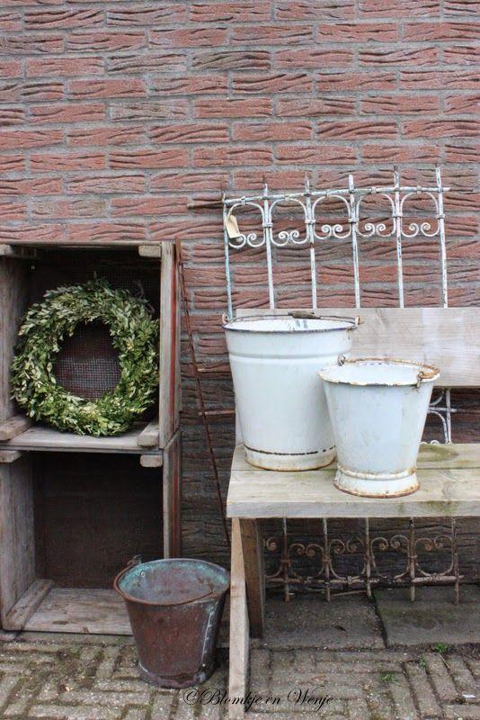 Blomkje en Wenje: houten panelen