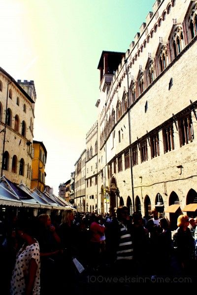 Eurochocolate Festival in Perugia