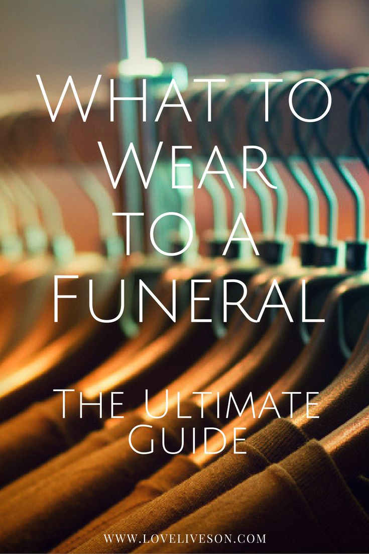 Read our Ultimate Guide on what to wear to a funeral. Covers essential rules for Men. Use our shopping guide to buy funeral attire online today. #loveliveson