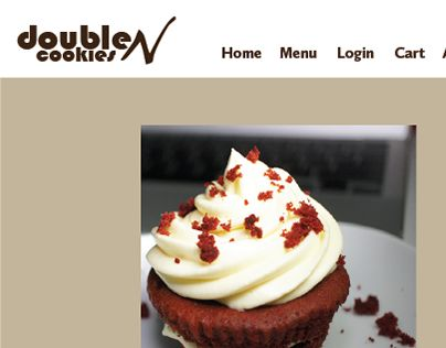 """Check out new work on my @Behance portfolio: """"Double N Cookies Web Project"""" http://be.net/gallery/50869419/Double-N-Cookies-Web-Project"""