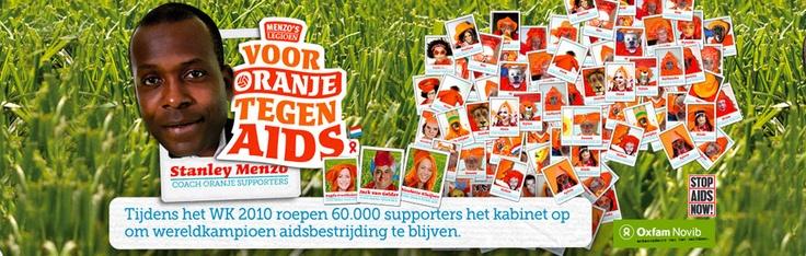 Oxfam Novib | Voor Oranje tegen Aids