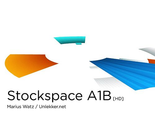 Marius Watz: Stockspace A1B 0007, 2009. Information landscapes based on historical stock price data.