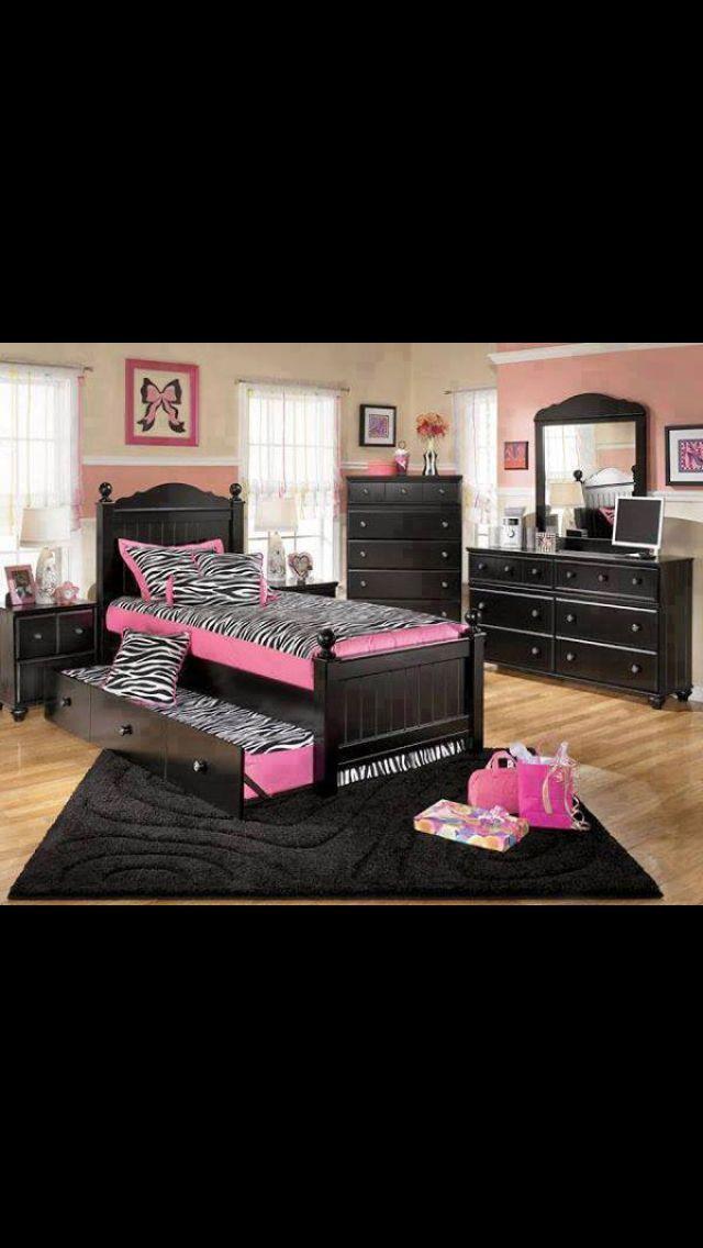 Nice Girl Bedroom Ideas Zebra With Girls