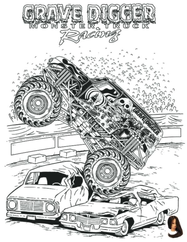 Monster Truck Coloring Pages Monster Truck Coloring Pages Monster Truck Coloring Pages Grave Monster Truck Coloring Pages Truck Coloring Pages Monster Trucks