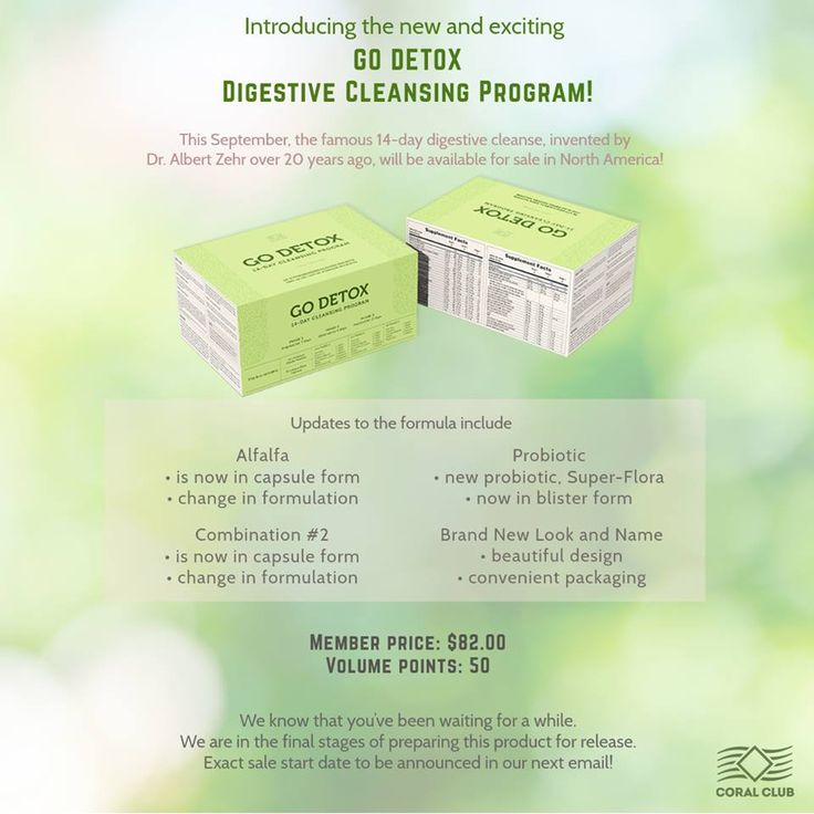 New Upgraded Version of Colo-Vada Body Cleansing Program - > Go Detox!