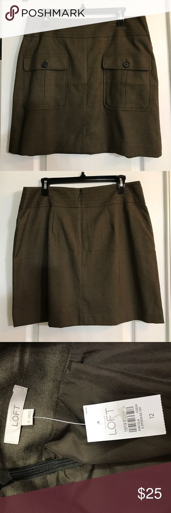 Ultra Cute Skirt Pair this with some leggings and boots or go casual with sandals. This NWT skirt came from Anne Taylor Loft. LOFT Skirts Midi