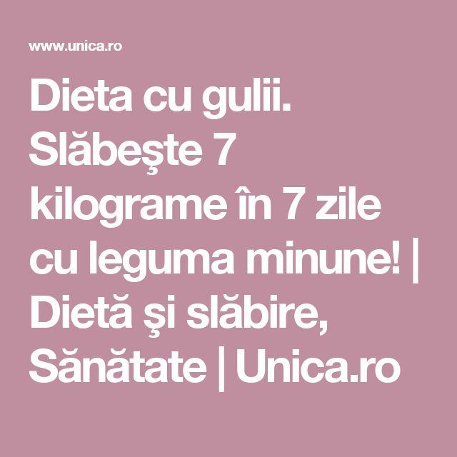 Dieta cu gulii. Slăbeşte 7 kilograme în 7 zile cu leguma minune! | Dietă şi slăbire, Sănătate | Unica.ro