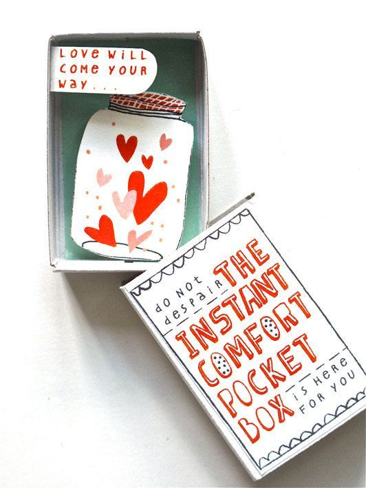 The Instant Comfort Pocket Box, what a sweet gift idea!