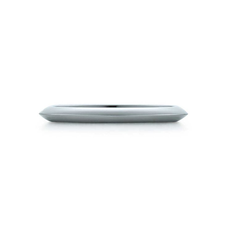 Tiffany wedding band in platinum, 2 mm wide. | Tiffany & Co.