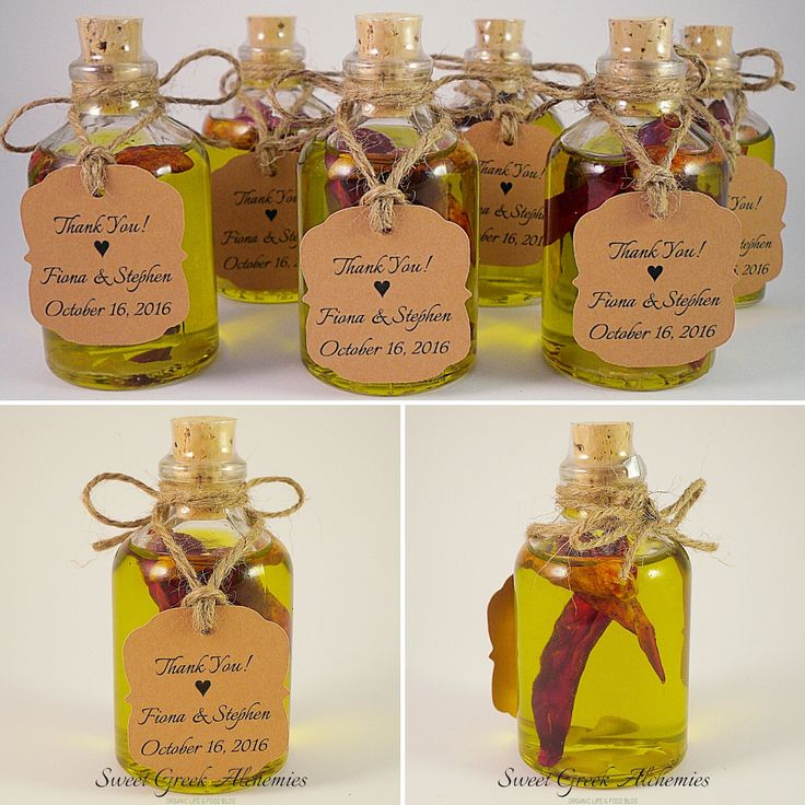 Express Delivery! Another order completed successfully!  Making an infused Olive Oil favor takes time. Not only because it's something that we do very carefully but also because infusion is a time-consuming task.  Visit our website to read the article.