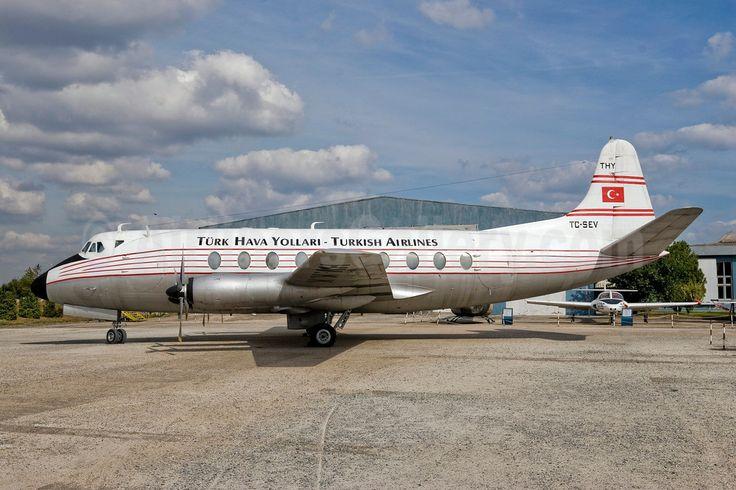 Turk Hava Yollari-Turkish Airlines Vickers Viscount 794D TC-SEV